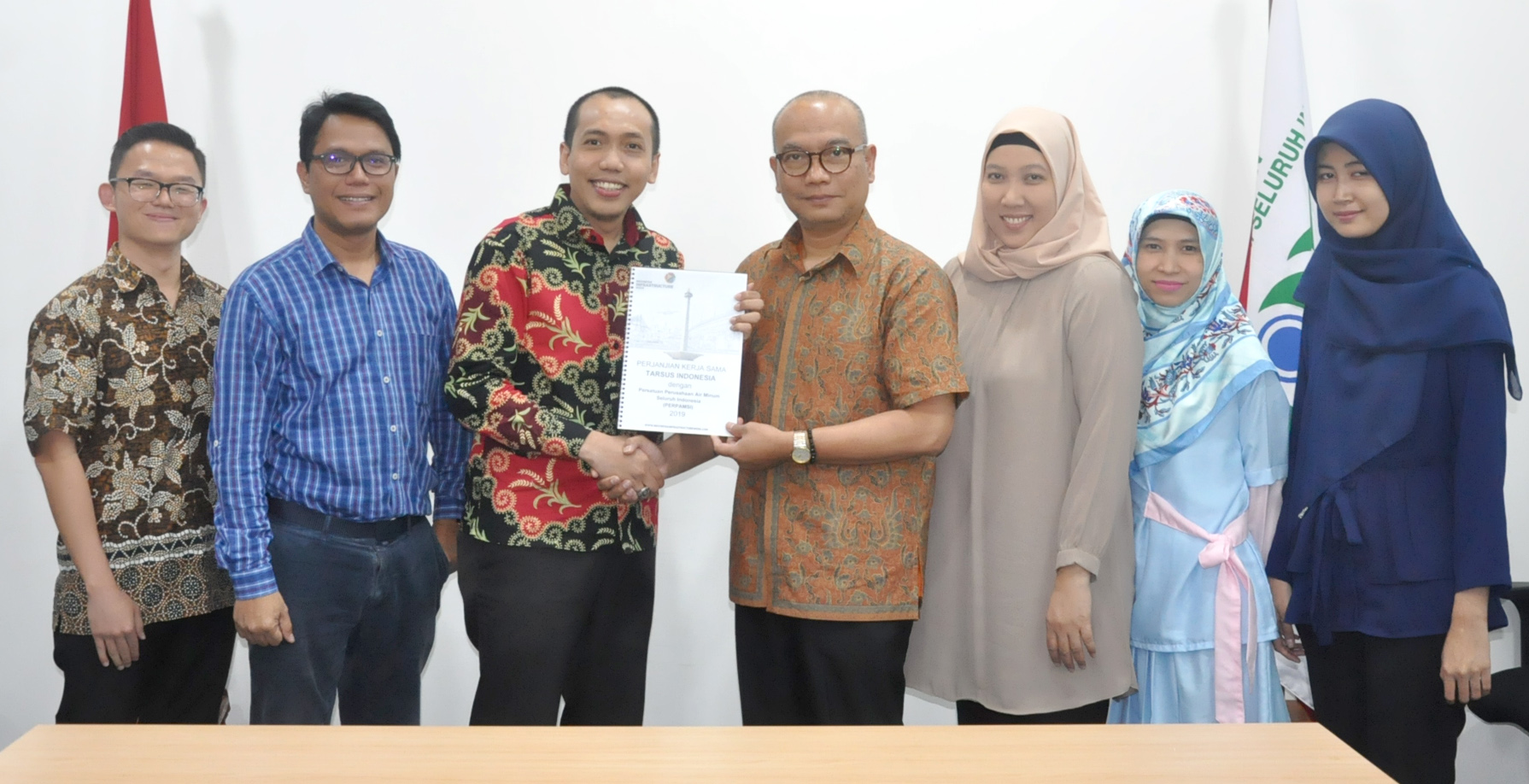 PERPAMSI SELENGGARAKAN INDONESIA WATER FORUM  DI AJANG INDONESIA INFRASTRUCTURE WEEK 2019
